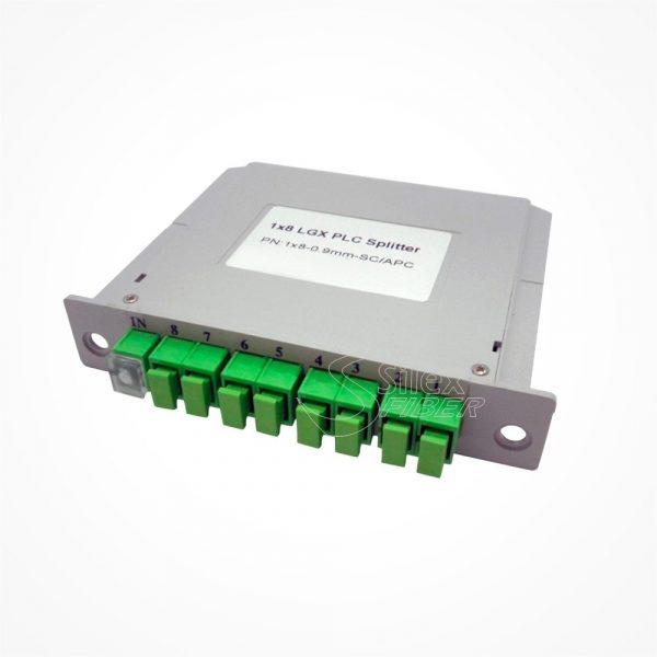 Divisor Splitter Optico PLC CASSETTE 1x8 SC APC