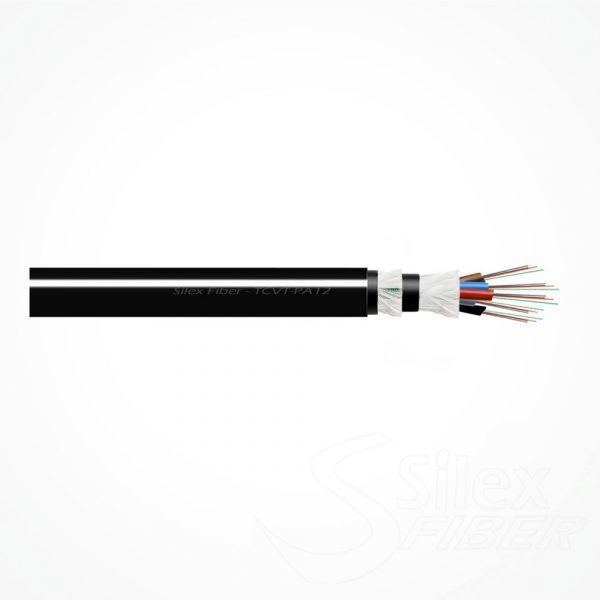 Cable Fibra Optica Dielectrico Ajustado TCVT-PA12 8FO Cod.SXT03200101SP