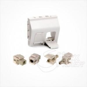 Multi Adaptador  – Insercion modular tipo Keystone