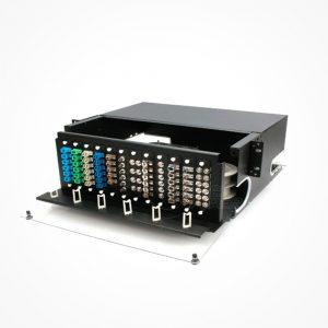 Panel de distribucion Fibra Optica 4U 72-144 Xtra4U