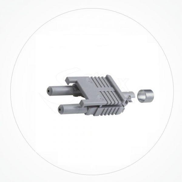 Conector HFBR V-PIN FOP DX Anillo Crimpado