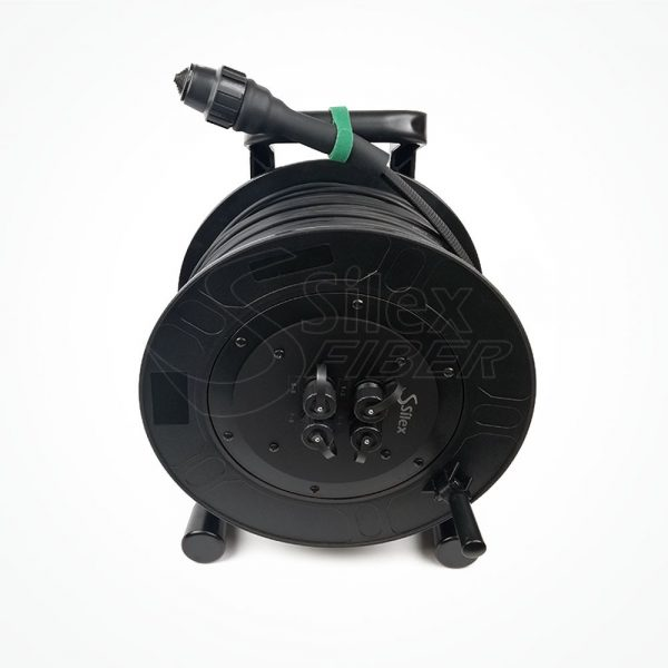 Enrollador Policarbonato Fibra Optica S312P SPL2.1+Panel