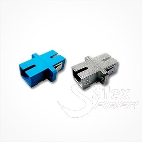 Adaptador hembra pasamuros SC-PC simplex