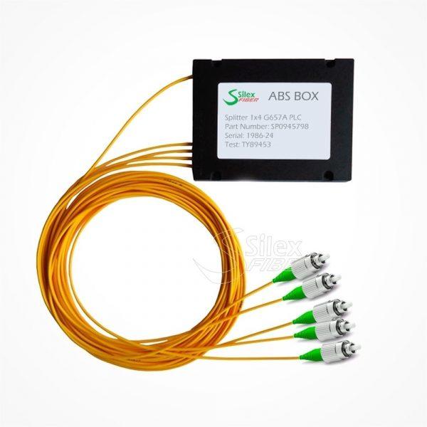 Divisor Splitter Optico PLC Box ABS FC APC