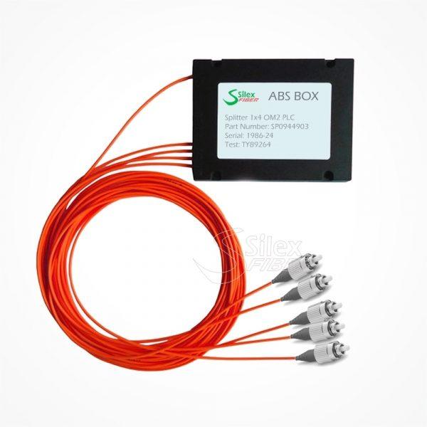Divisor Splitter Optico PLC Box ABS FC PC Multimodo