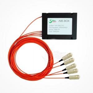 Divisor Splitter Optico PLC Box ABS SC PC Multimodo