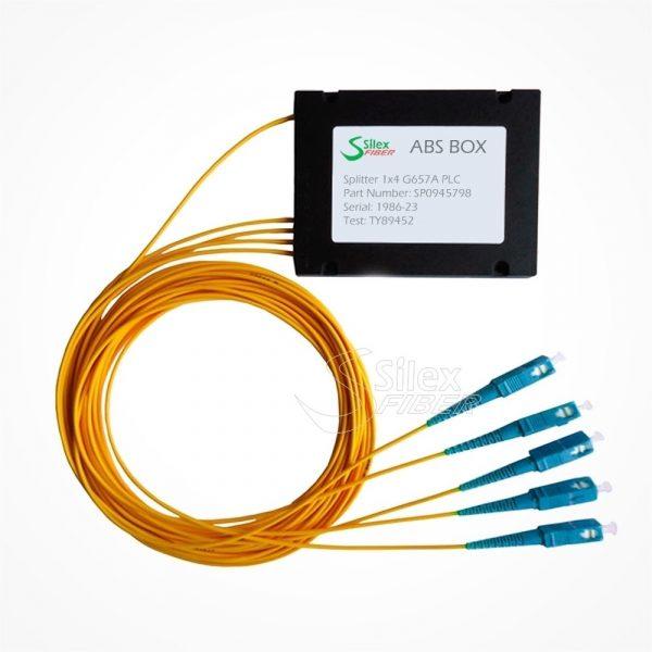 Divisor Splitter Optico PLC Box ABS SC PC