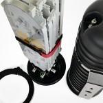 Caja DOME Torpedo B IP68 hasta 24-144FO SK M2B4144C
